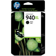 HP 940XL High Yield Black Original Ink Cartridge (C4906AN) (Single Pack)