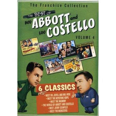 The Best Of Abbott And Costello, Vol. 4 (Full Frame)