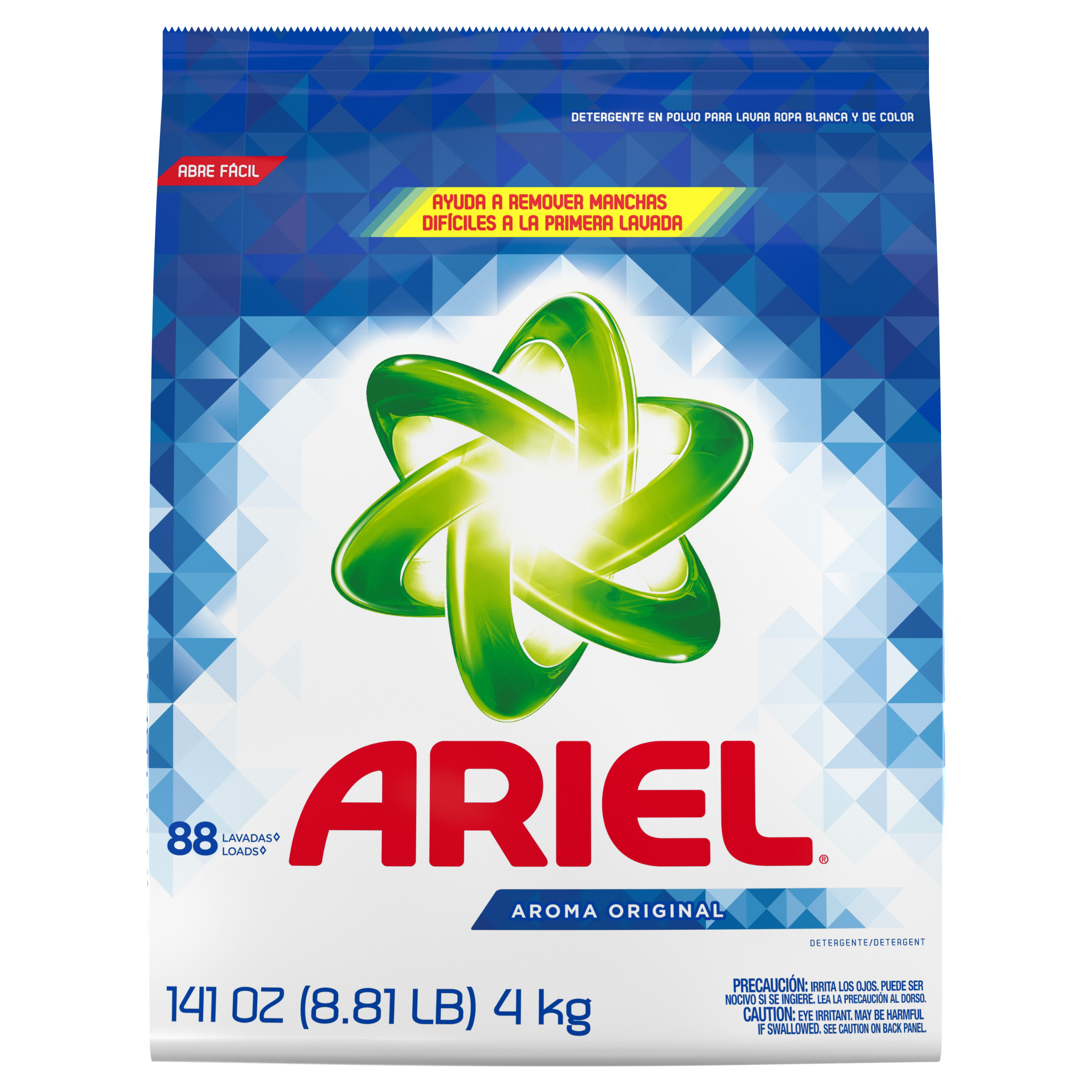 Ariel Laundry Detergent Powder, Original, 88 Loads 141 oz oz