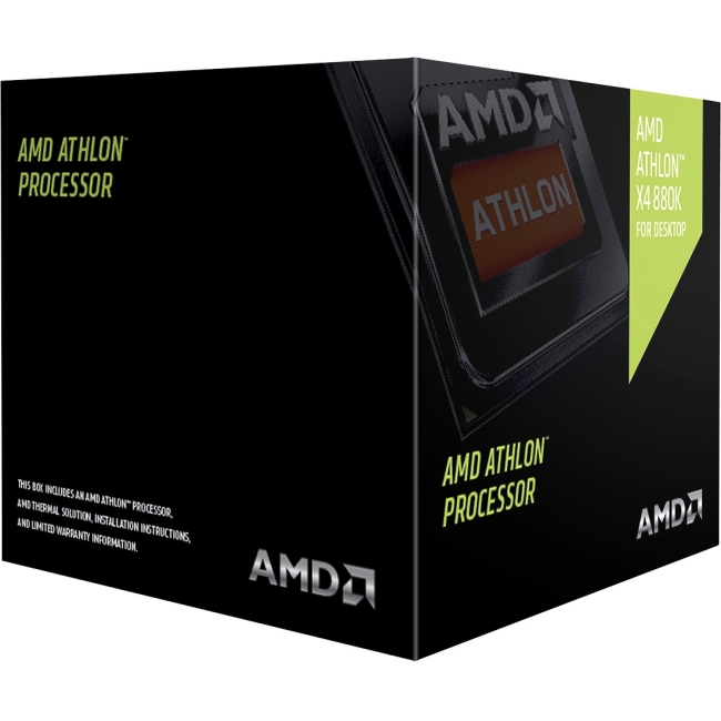 AMD Athlon X4 880k Quad-core (4 Core) 4 GHz Processor - Socket FM2+Retail Pack