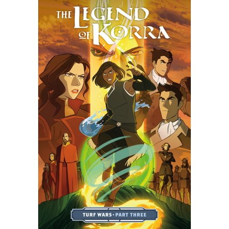 The Legend of Korra: Turf Wars Part Three (Paperback) (Turf Grass Book)