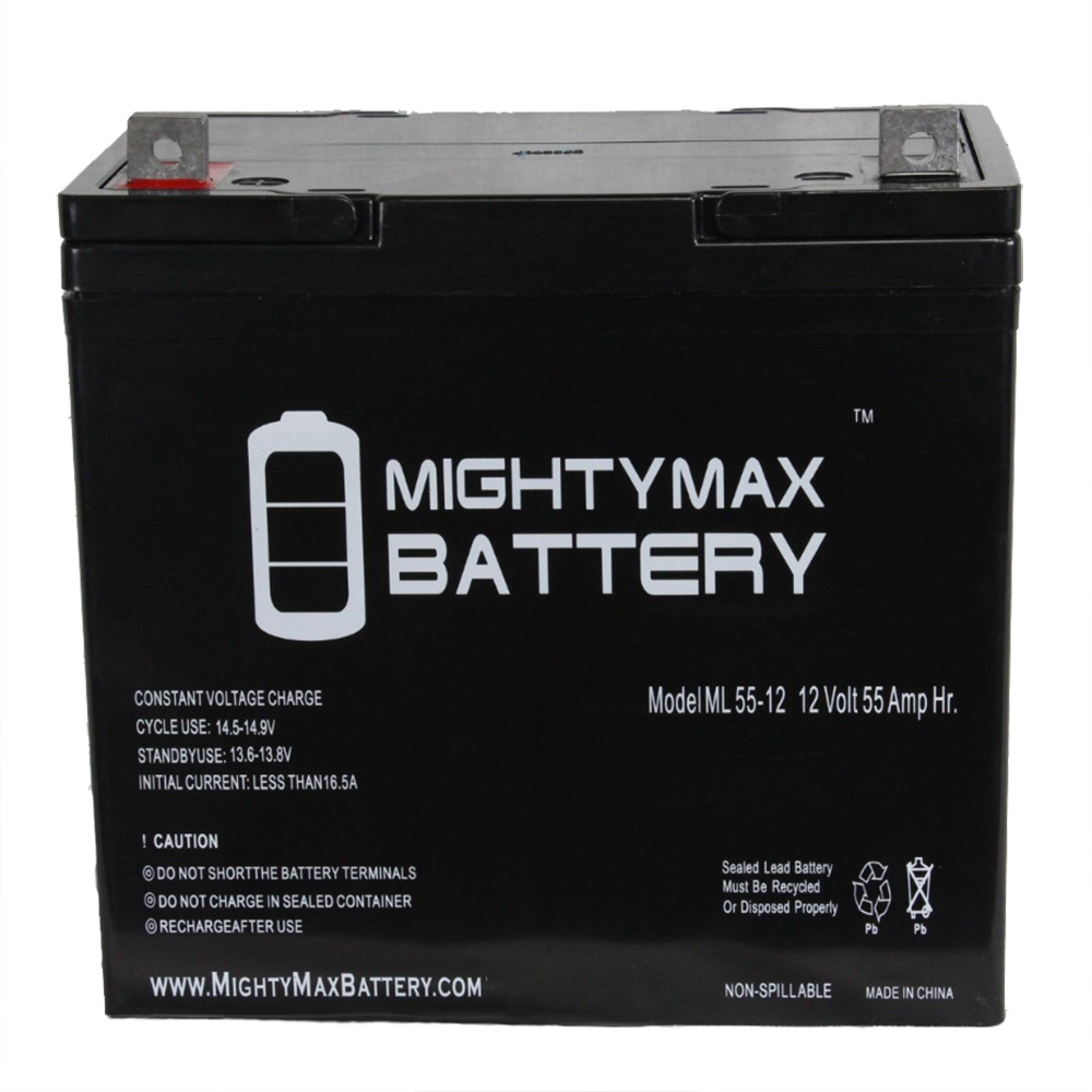 12V 55Ah Battery Replacement for Fortress 1600ACV 22NF
