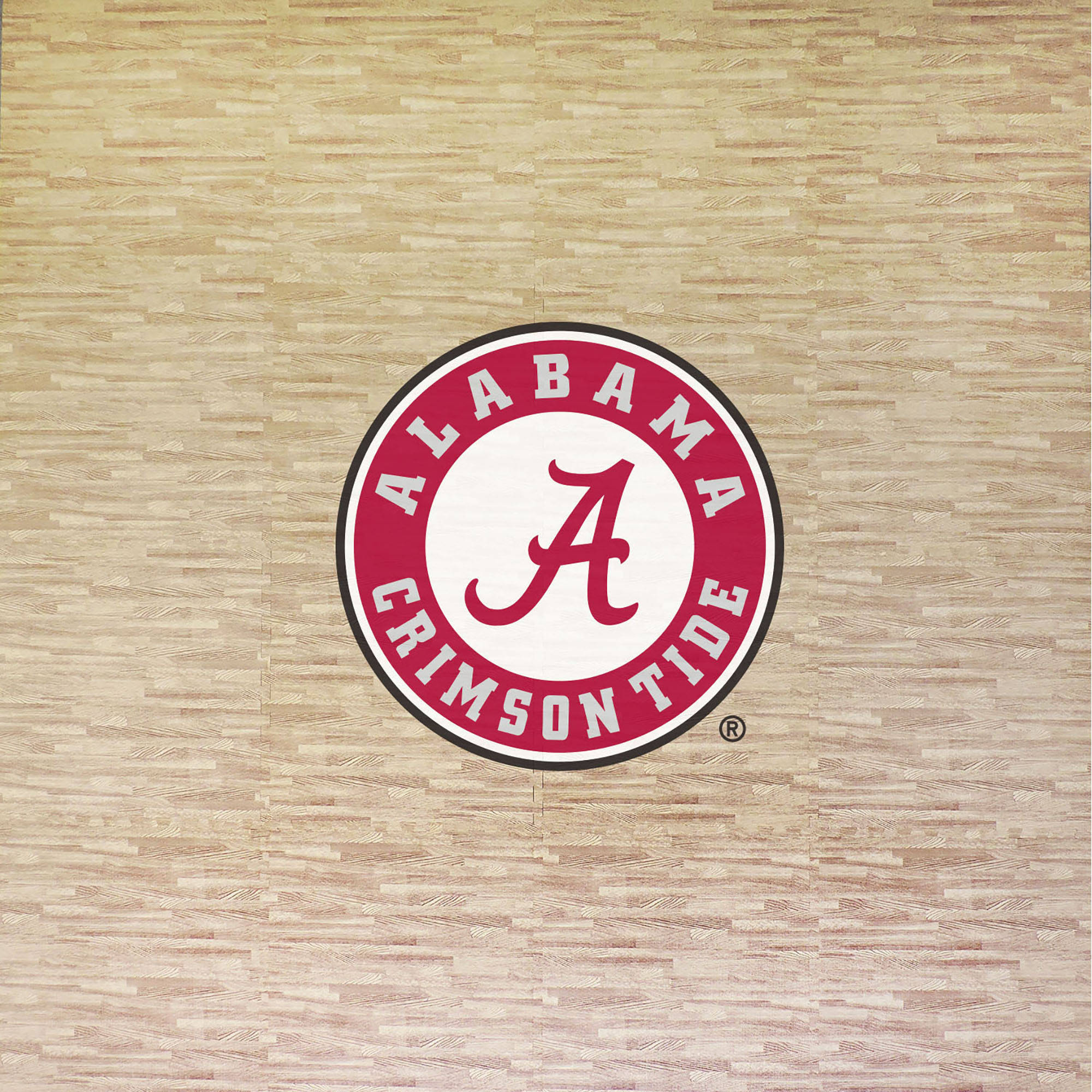 University of Alabama Portable Foam Puzzle Tailgate Floor Mat by