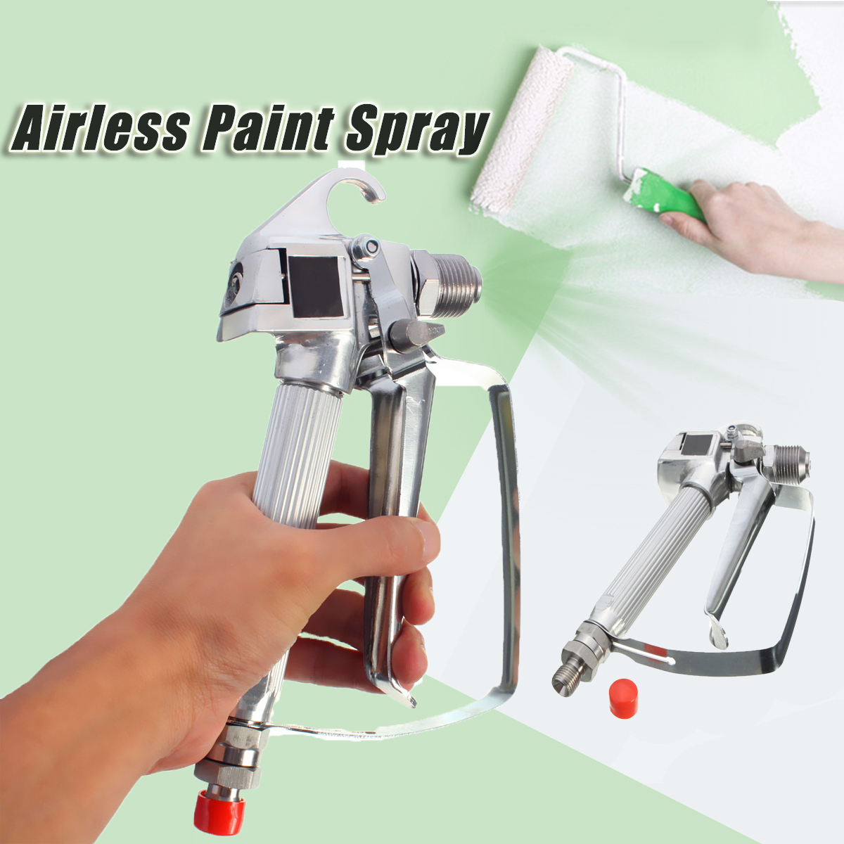 3600PSI High Pressure Airless Paint Spray Gun with Tip Guard For Titan Wagner Sprayers by