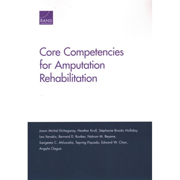 Core Competencies for Amputation Rehabilitation (Paperback)