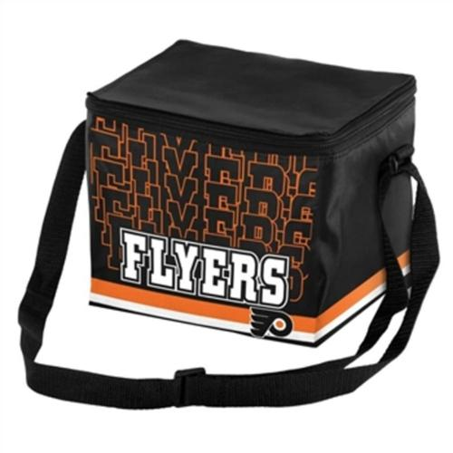 Philadelphia Flyers Official NHL 9.5 inch  x 5 inch  Insulated 6-Pack Cooler by Forever Collectibles
