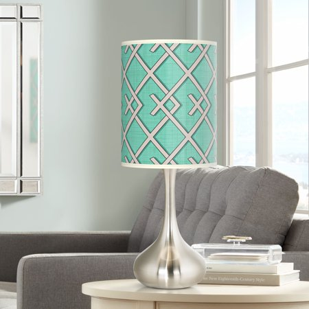 Giclee Glow Crossings Giclee Droplet Table Lamp