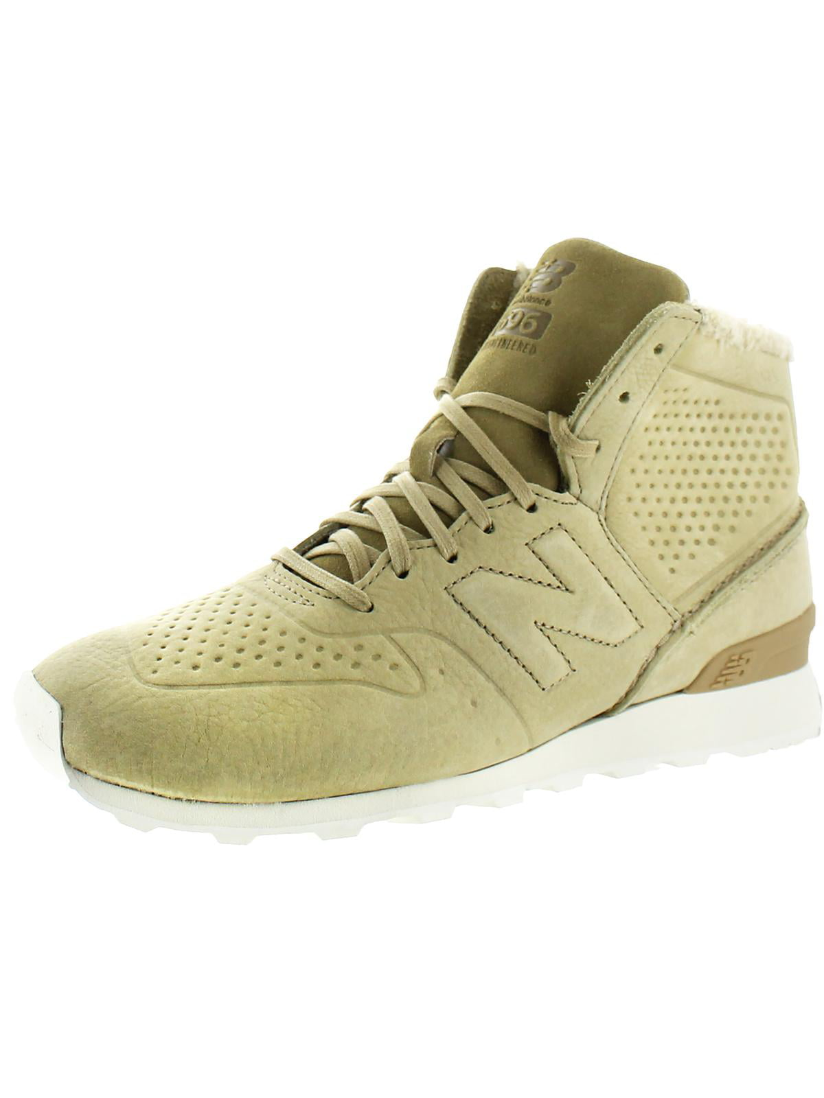 New Balance Womens 698 ReEngineered Faux Fur Lining Perforated High Top Sneakers by New Balance
