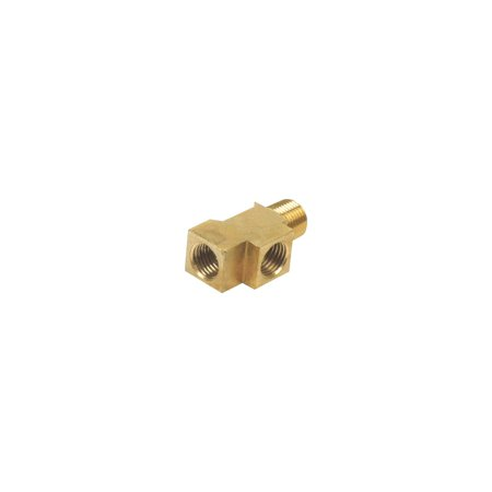 MACs Auto Parts  66-37759 - Ford Thunderbird Brake Line Connector, Brass, Threads Into The Master - Ford Thunderbird Brake