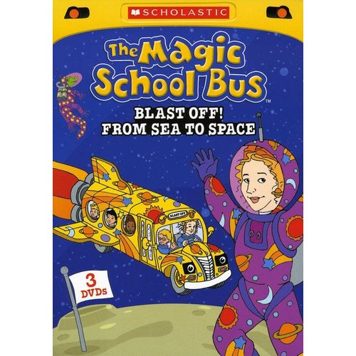 The Magic School Bus: Blast Off! From Sea To Space (3-Pack) (Full Frame)