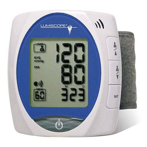 Lumiscope Talking Wrist Blood Pressure Monitor