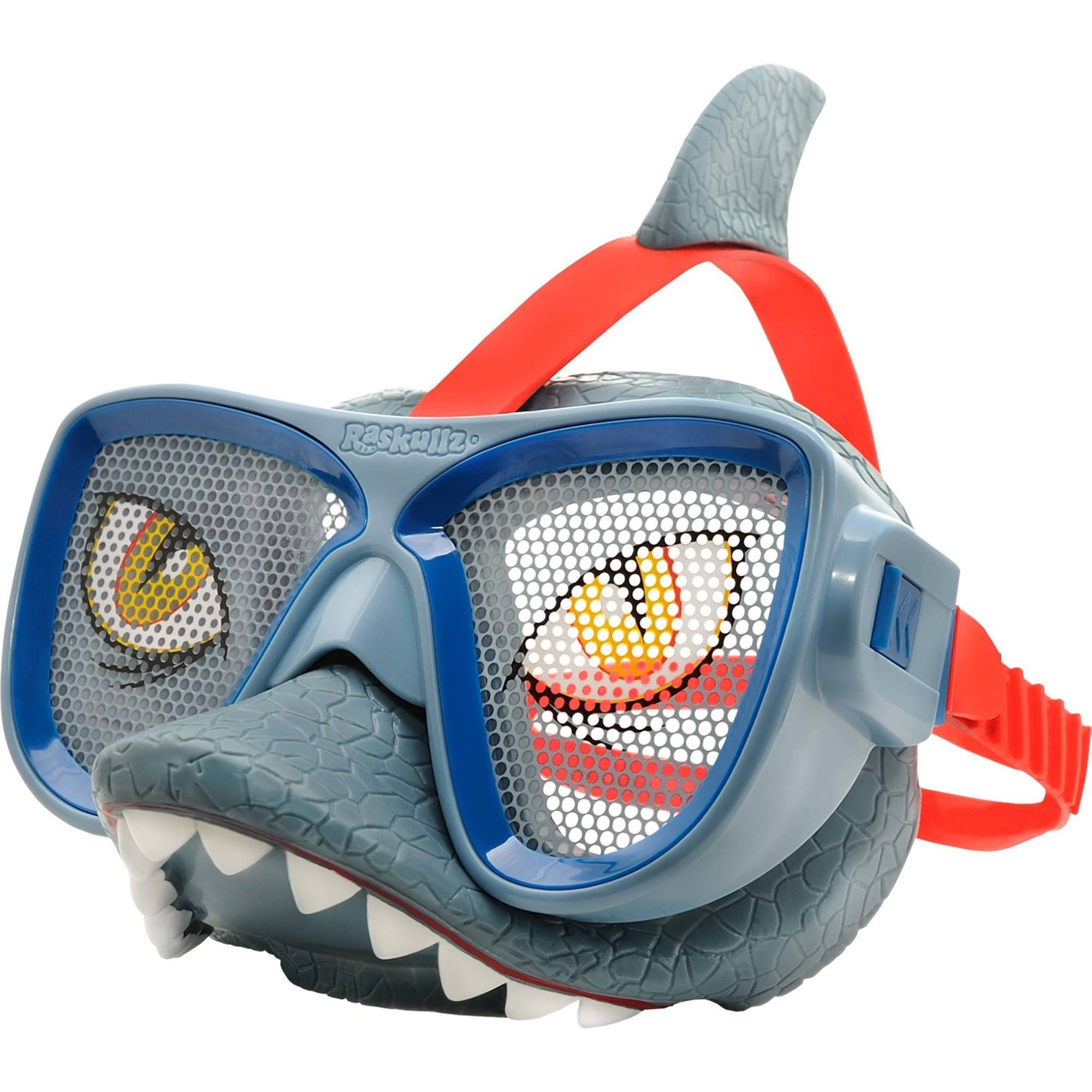 Raskullz Shark Attax Mask, Grey by Bell Sports