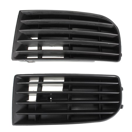 1pc Left Right Front Bumper Lower Grille Corner Side For VW  Golf Mk5 05-09 1.4 1.6 1.9 Tdi & Sdi & 2.0l Tdi Driver Passenger Black ABS Plastic US,right (2003 Vw Jetta Tdi Wagon For Sale)