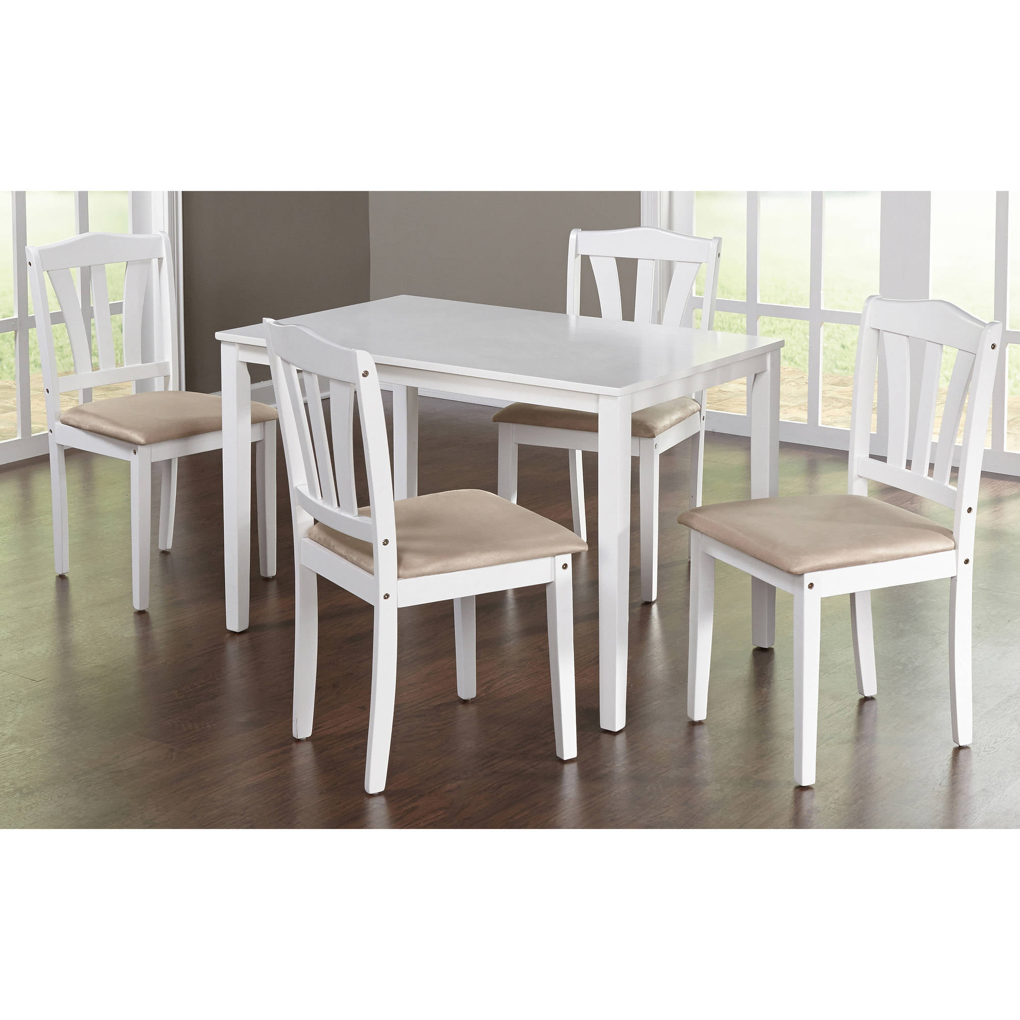 metropolitan 5 piece dining set multiple colors walmartcom - Walmart Kitchen Tables