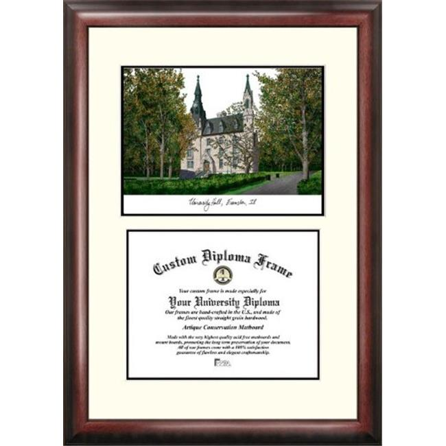 "Northwestern University 8.5"" x 11"" Legacy Scholar Diploma Frame"