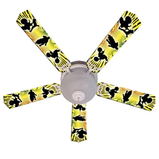 Ceiling Fan Designers 52FAN-IMA-BMX Kids Baja Mx Motocross Ceiling Fan 52 inch