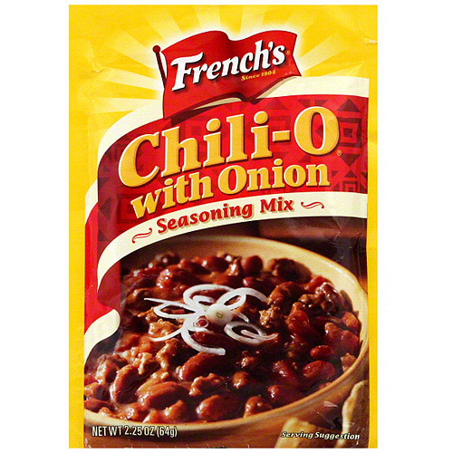 French's Chili-O With Onion Seasoning Mix, 2.25 oz (Pack of 18)