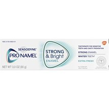 Toothpaste: Sensodyne Pronamel Strong & Bright