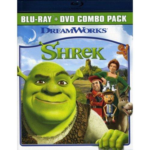 Shrek (Blu-ray + Standard DVD)             (Widescreen)