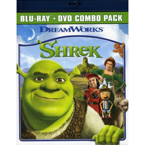 Shrek (Blu-ray + Standard DVD)             (Widescreen)