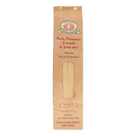 Rustichella Dabruzzo Wheat Spaghetti - (5 Pack) Rustichella d'Abruzzo Spaghetti Pasta, 17.6 Oz