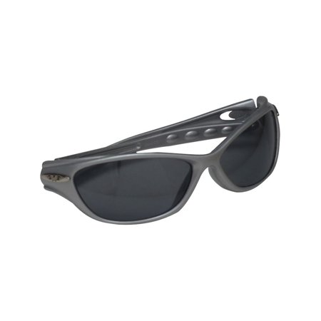 (Zoo Crew Girls Grey Cat Eye Narrow Plastic Frame Lenses Sunglasses)