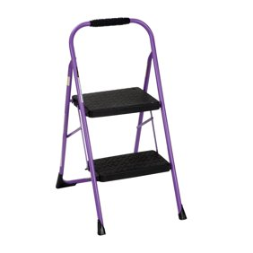 Cosco Two Step Folding Stool With Rubber Hand Grip