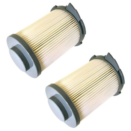 HQRP Primary HEPA Filter Set 2-Pack for Hoover S3755050 / S3755080 / S3765040 / S3755045 WindTunnel Bagless Canister Vacuum Cleaner plus HQRP Coaster