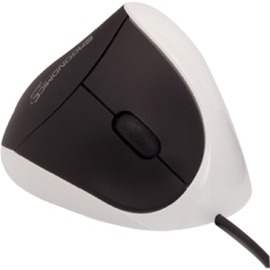 COMFI II WIRED ERGONOMIC COMPUTER MOUSE WHITE