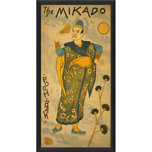 The Artwork Factory The Mikado Framed Vintage Advertisement