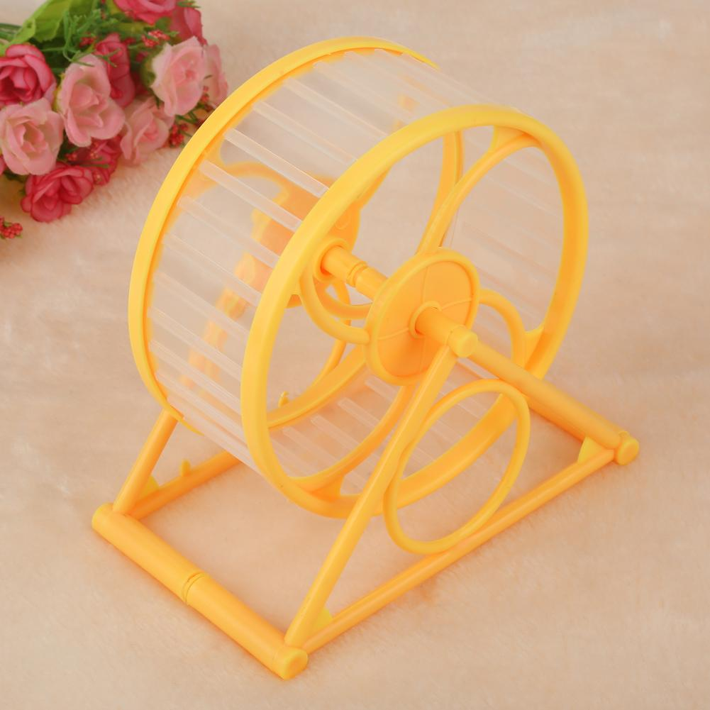 HURRISE Plastic Scroll Toy for Small Pet Hamster Mouse Rat Exercise Running with Stable Base, Pet Plastic Scroll Toy, Pet Exercise Toy