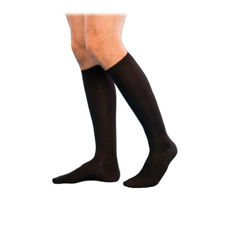 Sigvaris 186 Well Being Men's Casual Cotton Knee High Socks - 15-20 mmHg Sig186C