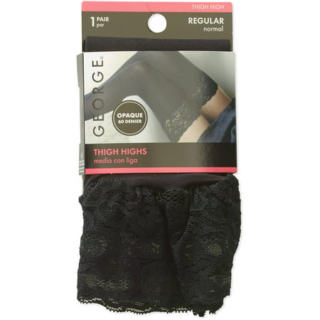 Lace Top Thigh High,2 Pack for $<!---->