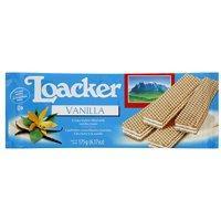 Loacker Vanilla Wafers, 6.2 oz (Pack of 18)