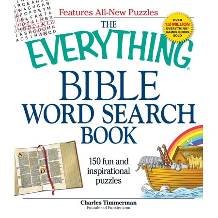 The Everything Bible Word Search Book : 150 fun and inspirational puzzles
