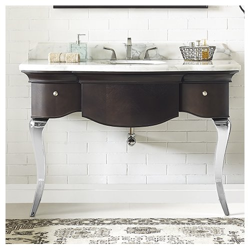 Luxe Bath Works Burke 51'' Mica Vanity Base