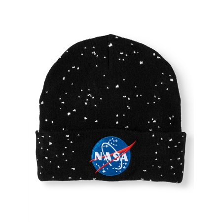 8af9b0f36d5418 NASA - Men's Knitted Nasa Hat - Walmart.com