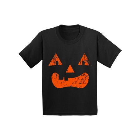 Awkward Styles Halloween Youth Shirts Cute Pumpkin Shirt For Kids Jack O Lantern Tshirts Spooky Halloween Outfits Halloween Gifts for $<!---->