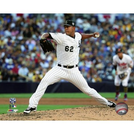 Jose Quintana 2016 MLB All-Star Game Action Photo Print