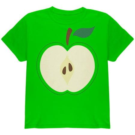 Halloween Apple Slice Costume Youth T Shirt - Tee Shirt Halloween Bebe
