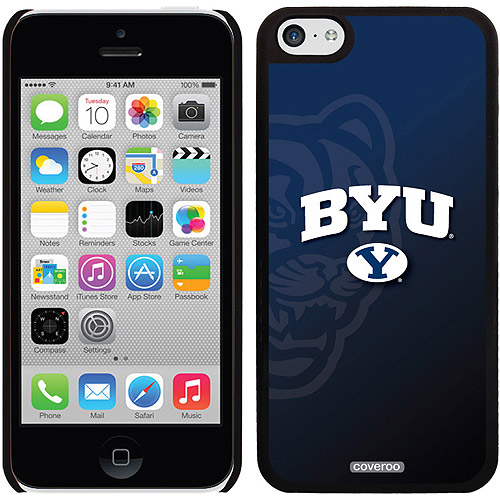 Coveroo Brigham Young Watermark Design Apple iPhone 5c Thinshield Snap-On Case
