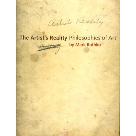 Artist's Reality: Philosophies of Art