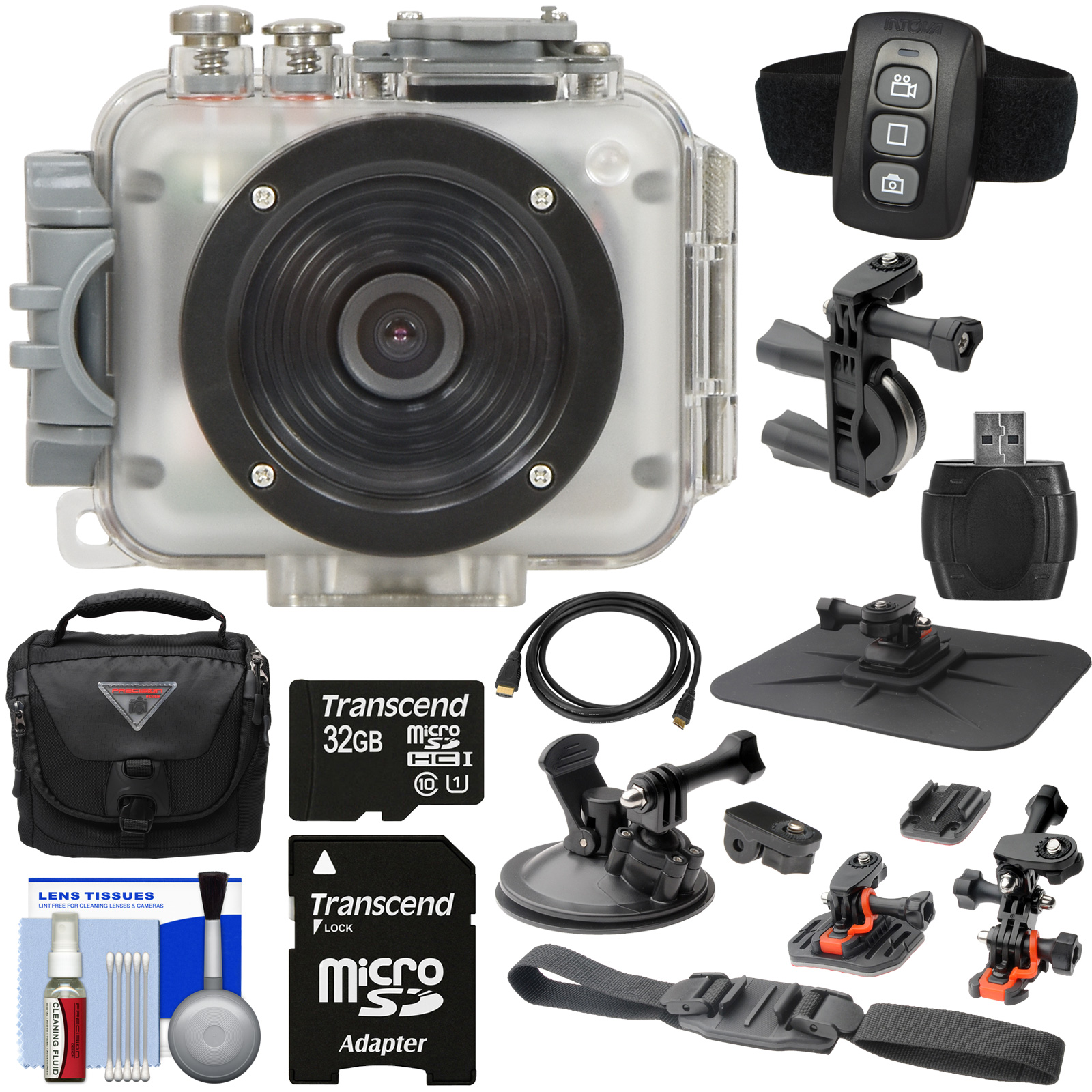 Intova Connex 1080p HD Waterproof Video Action Camera Cam...