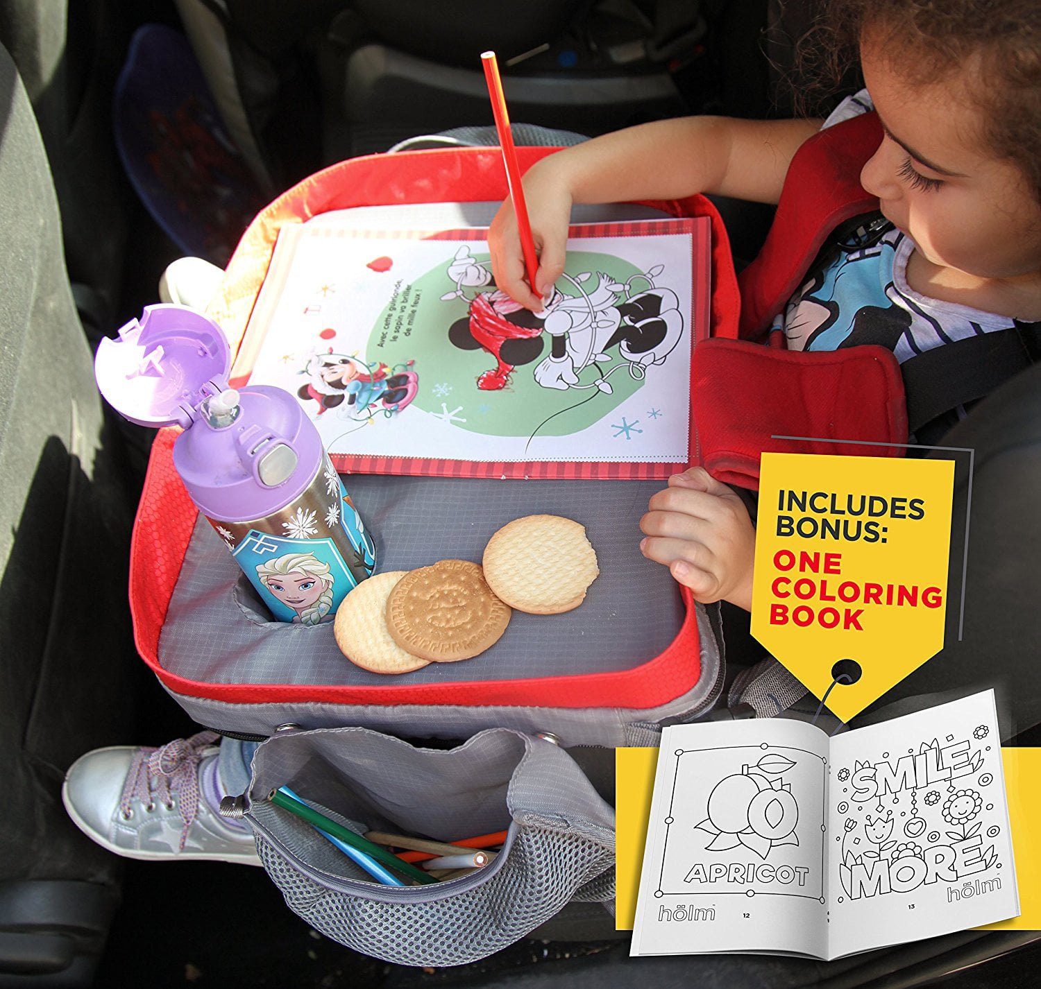 Cell Phones and Driver Accessories High Road Car Seat Tray for Snacks