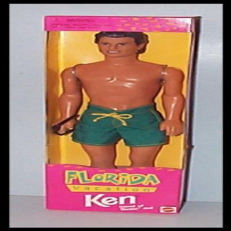 1998 Florida Vacation Ken Friend of Barbie Doll by Mattel by