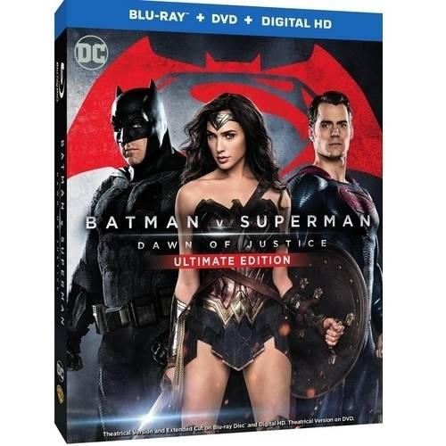 Batman V Superman: Dawn Of Justice (Ultimate Edition) (Blu-ray + DVD + Digital HD With UltraViolet) (With INSTAWATCH)