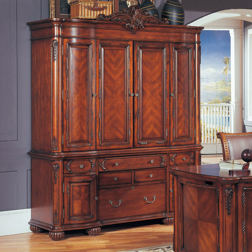 Wildon Home  Angelina Credenza and Hutch