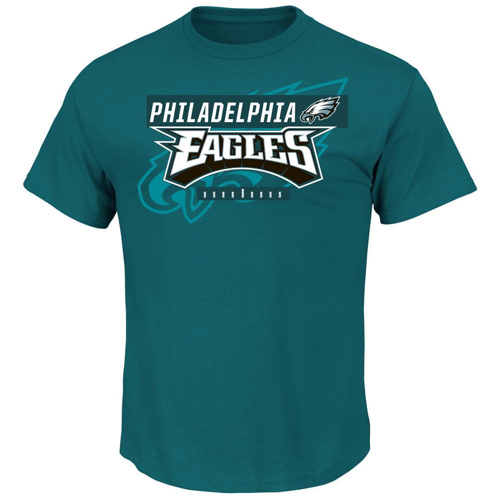 "Philadelphia Eagles Majestic NFL ""Of Great Value"" Men's Short Sleeve T-Shirt by Majestic"