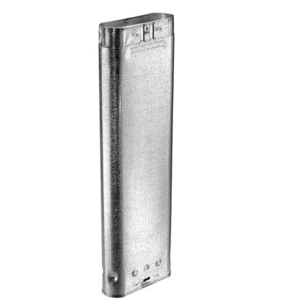 Aluminum 48 inch Oval Rigid Pipe - 5 inch