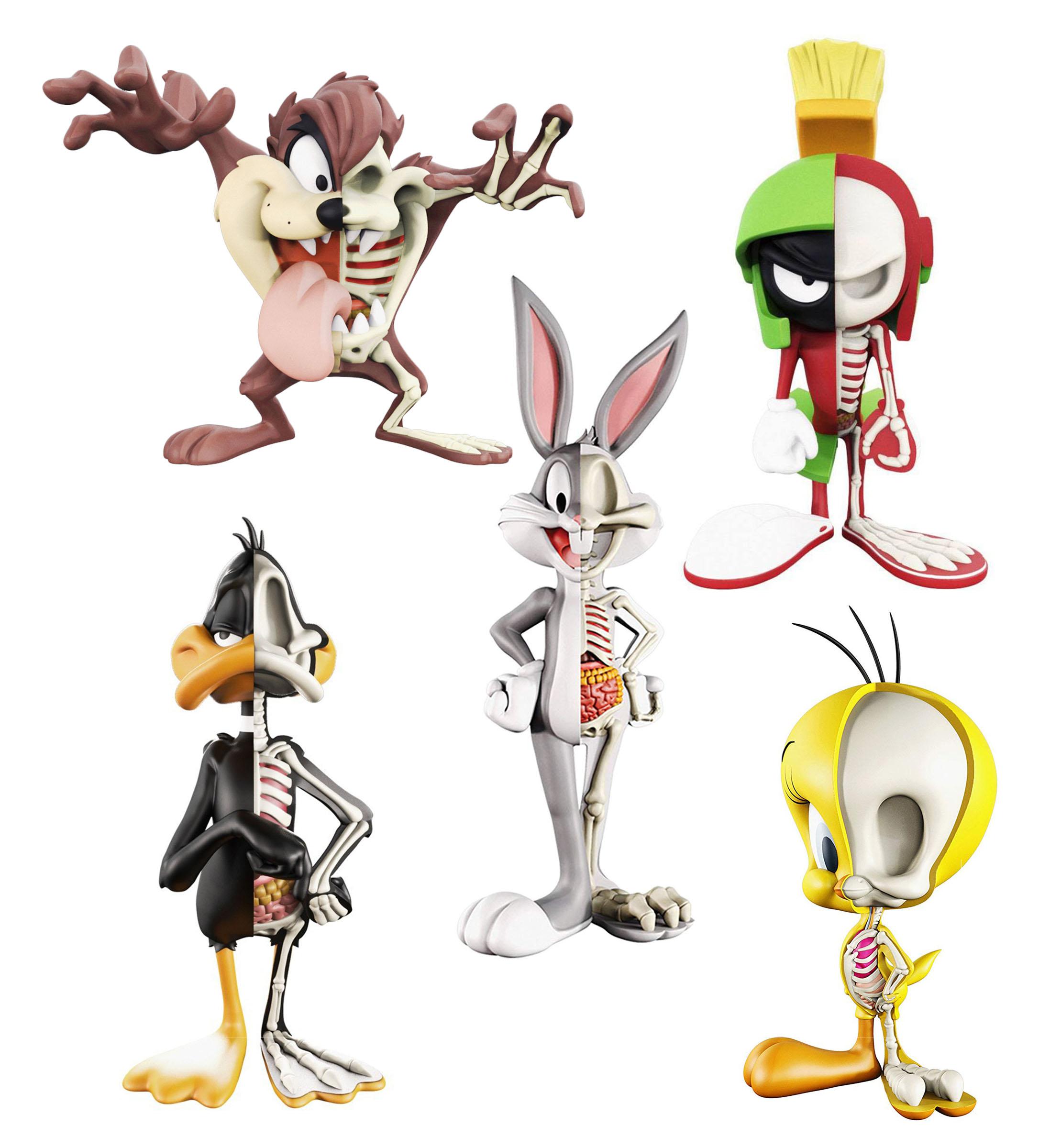 MightyJaxx Jason Freeny Bugs Bunny Fashion Figure Toys Children In Stock Hot